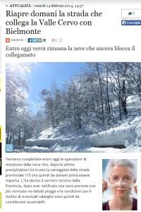 UFO DI RIVOLI - STRADA PER NBIELMONTE CHIUSA