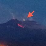 Ufo sull'Etna