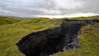 Sinkhole in Inghilterra