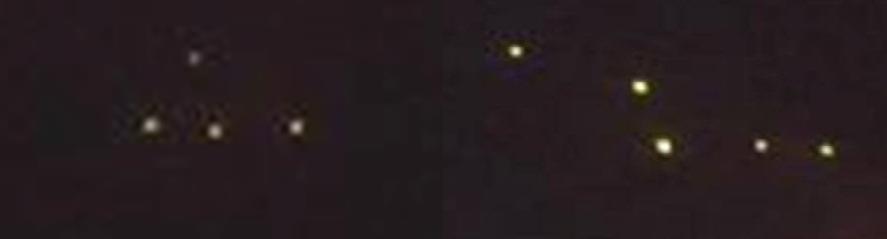 Ufo a Caserta. Formazioni a confronto