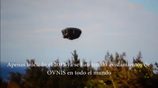 CUFOM. ENORME UFO NEI PRESSI DEI TESTIMONI