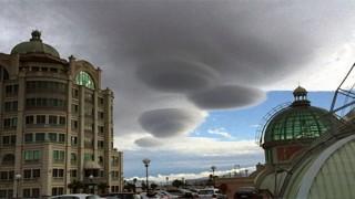 Nuvole UFO Città del Capo