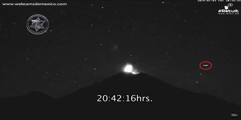 Messico UFO Popocatepetl