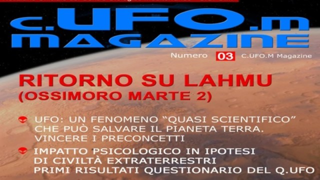 0001 - CUFOM MAGAZINE  - COVER -