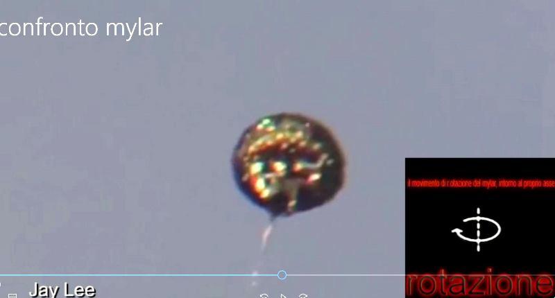 pallone mylar