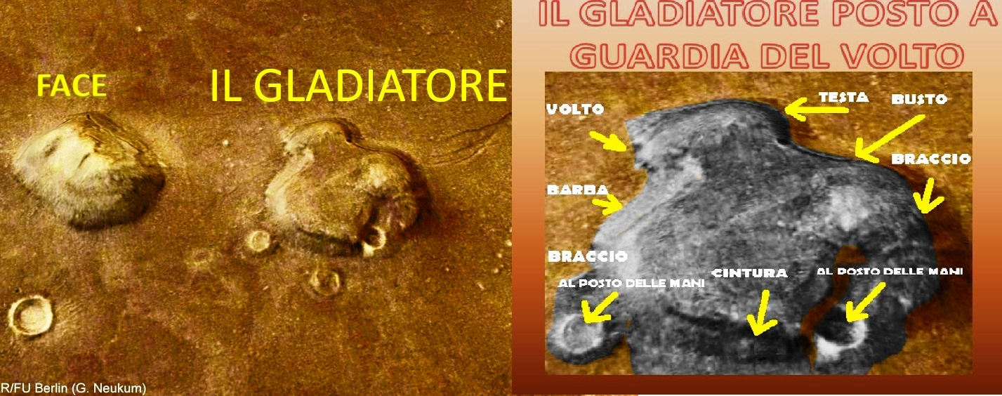 Il cosiddetto Gladiatore scoperto dal nostro Presidente e Fondatore dr. Angelo Carannante