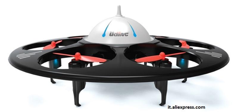 Foto 4. Drone telecomandato  a forma discoidale.