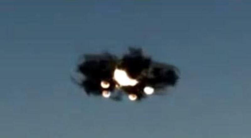 Un ufo del falso avvistamento ufo di Haiti del 6 agosto 2007.