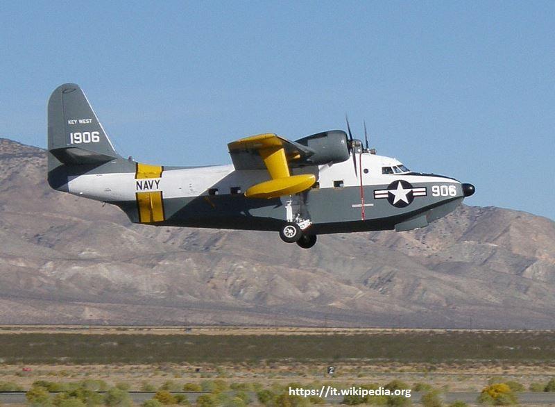 L'UF-1/HU-16C BuNo 131906 della U.S. Navy, costruito nel giugno 1953