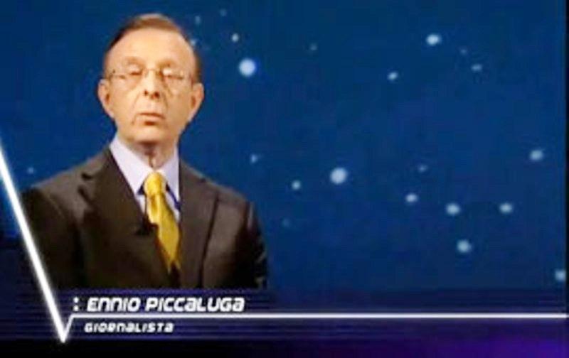 L'ing. Ennio Piccalugadurante la trasmissione Voyager in cui fu ospite assieme  alla compianta Margherita Hack.