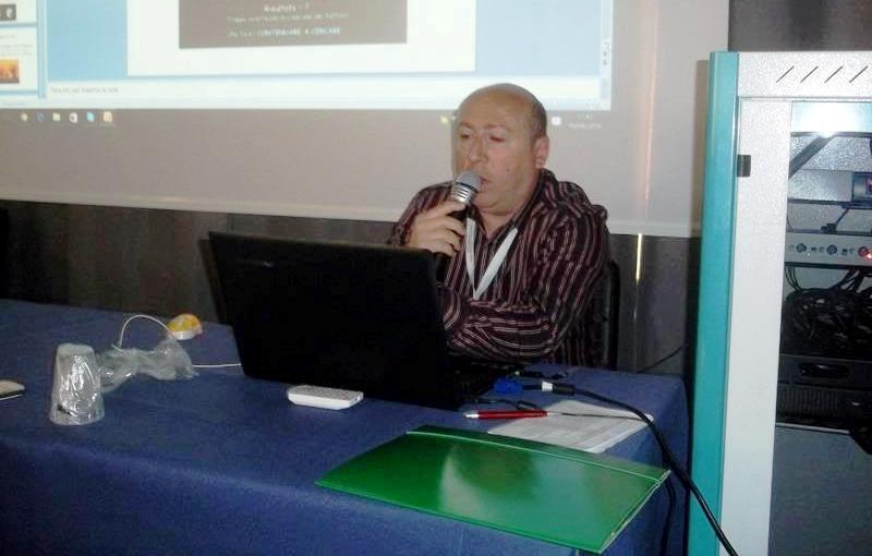 Il bravo Berardino Ferrara, astrofiolo ed ottimo ricercatore del C.UFO.M.