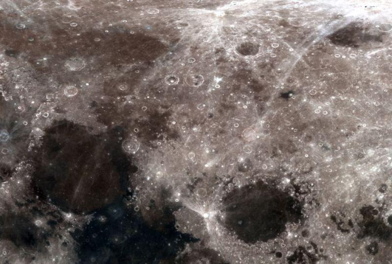 Immagine originale NASA relativa alla zona dove è stata individuata la presunta piramide.