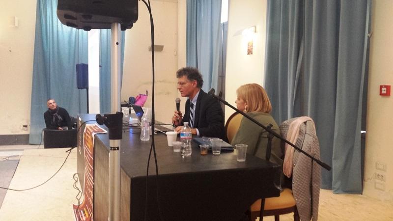 Il Presidente Carannante durante il recente convegno di Bacoli Napoli).