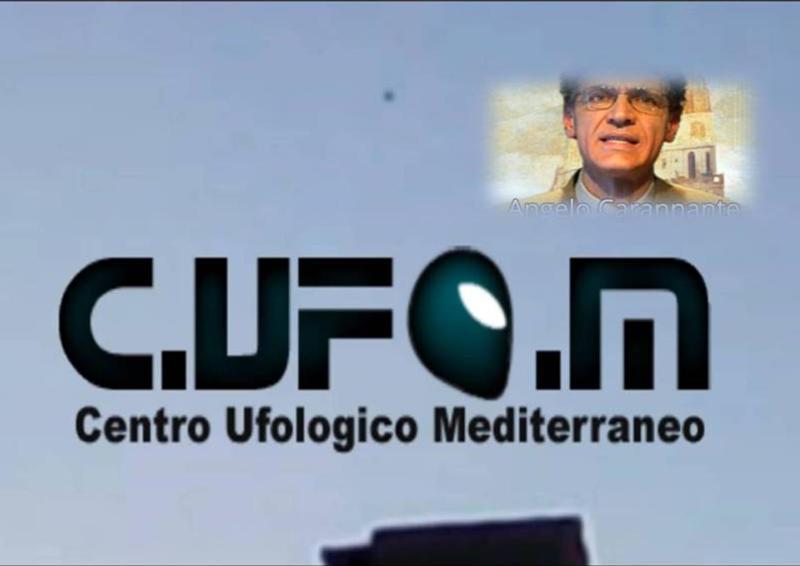 Il nostro Presidente dr. Angelo Carannante, anche fondatore del C.UFO.M., in una curiosa e grintosa espressione. Sembra dare forza e anche grinta alla sua creatura.