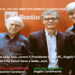 """Il Presidente Carannante alla trasmissione di radio uno RAI """"Non è un paese per giovani""""."""