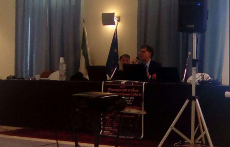 L'intervento a Bacoli del Presidente e fondatore del C.UFO.M. dott. Angelo Carannante.