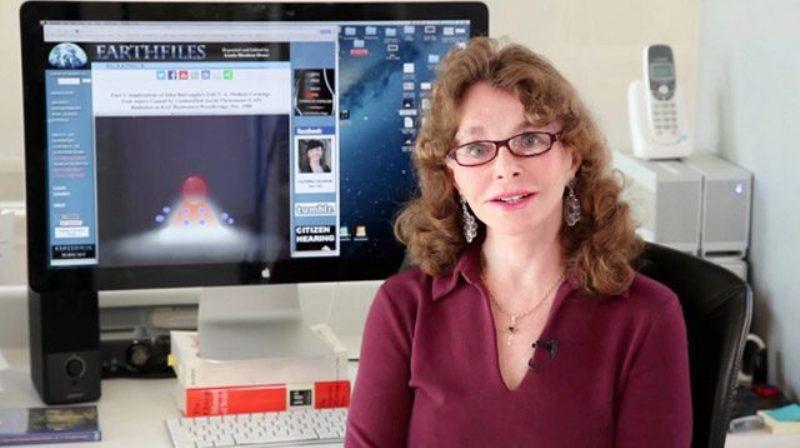 La celebre ricercatrice Statunitense Linda Moulton Howe