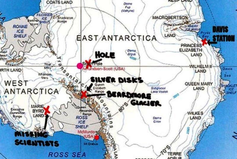 La base militare in Antartide