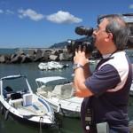 Il socio ricercatore, esperto immagini, riprese ed in montaggio video, Giovanni Potenza.