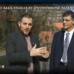 Angelo Carannante presidente e fondatore del C.UFO.M. intervistato da Daniele Bossari in una puntata di Mistero.