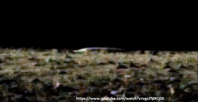 ufo astronave aliena luna 1