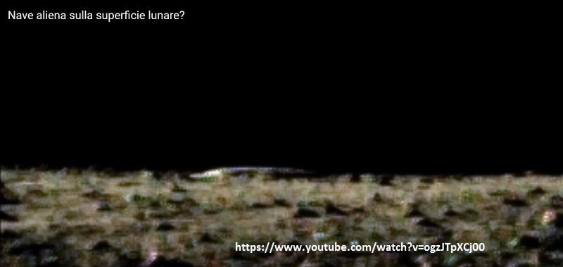 ufo astronave aliena luna