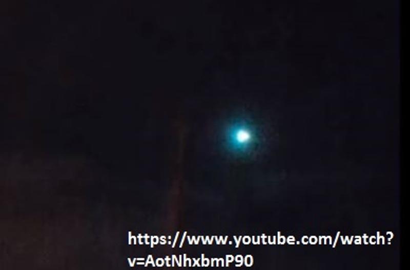 ufo meteora inghilterra capodanno 25