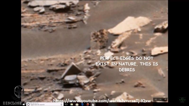 """Fig. 3. Una """"roccia"""" a perfetto angolo retto. E' possibile in natura?"""