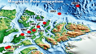 UFO magnetic-pole-migration