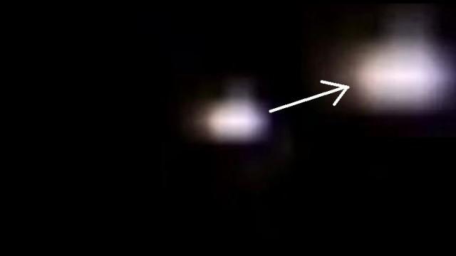 13 - PESCHIERA BORROMEO. UNO DEGLI UFO RIPRESI