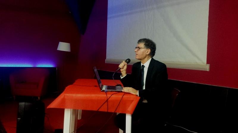 Il Presidente Angelo Carannante durante la sua relazione