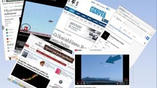 I media hanno dato ampio risalto agli avvistamenti ufo pubblicati dal C.UFo.M. ad aprile 2018.: ANSA, RAIDUE, IL SECOLO XIX, IL MATTINO, E DECINE E DECINE DI SITI.