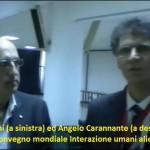 """Il Presidente Carannante durante il convegno mondiale """"Interazione umani alieni""""."""