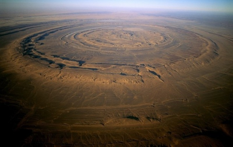 ufo, occhio-del-sahara-in-mauritania