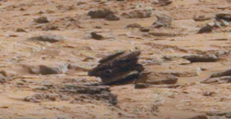 ufo. drone alieno marte 1