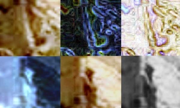 Diversi filtri che fanno trapelare l'inquietante figura di un grigio.