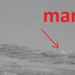 UFO. MARTE PIRAMIDE