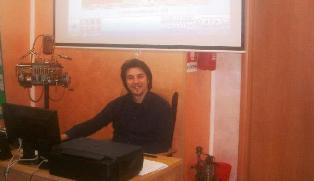 Il socio C.UFO.M. Antonio Specchio che ha svolto le indagini di Corio.