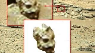 Figura 1. Testa di una statua?