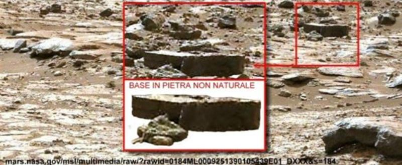 Figura. Parallelepipedo molto regolare. Come mai, come visto nel nostro precedente articolo, su Marte ve ne sono tanti?