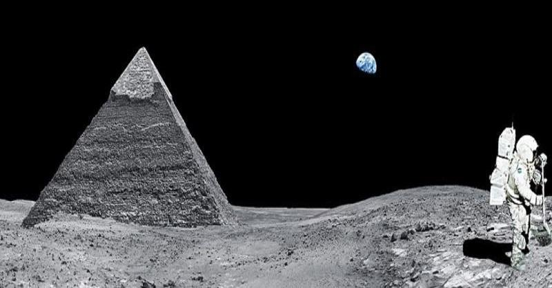 ufo luna piramide