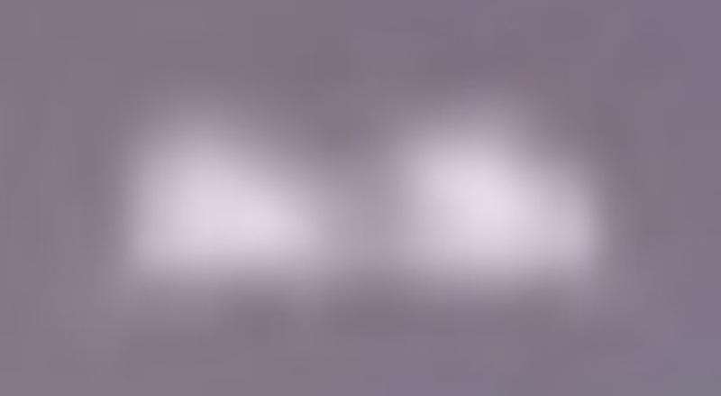 Un fermo immagine dell'ufo di Claromecò. Sembra composto da due corpi: uniti o separati?