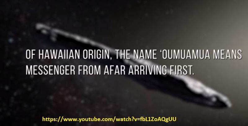 UFO, OUMUAMUA
