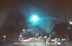 ufo fasci luce michigano