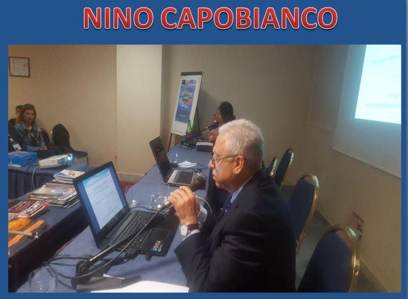 Lo psicologo psicoterapeuta Nino Capobianco, espone al pubblico il suo studio sull'impatto psicologico in ipotesi di civiltà extraterrestri.