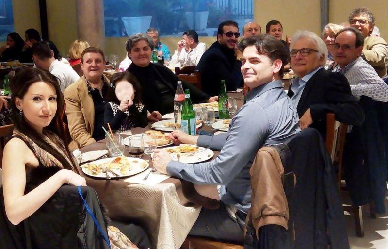 Alla fine una succulenta pizza con organizzatori e relatori. Un cordiale arrivederci a presto.