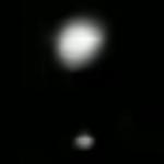 Fig. 1. Ufo a Genova. L'ufo si sdoppia.