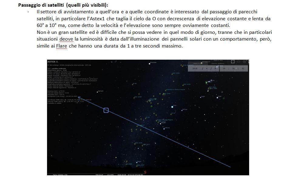 4 - UFO CATANIA ANALISI POSIZIONE UFO IN CIELO