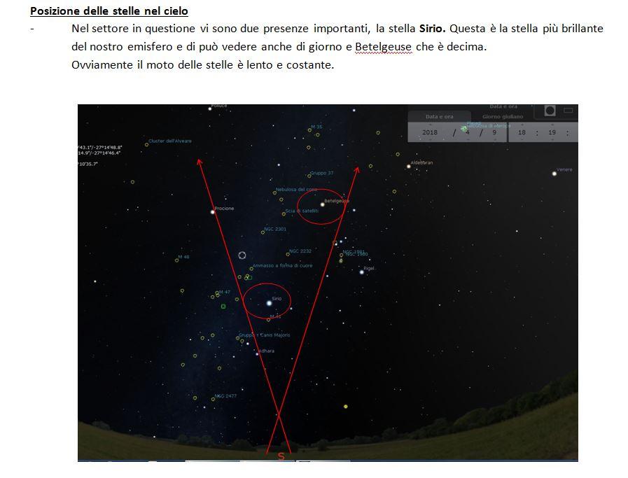 5 - UFO CATANIA ANALISI POSIZIONE UFO IN CIELO