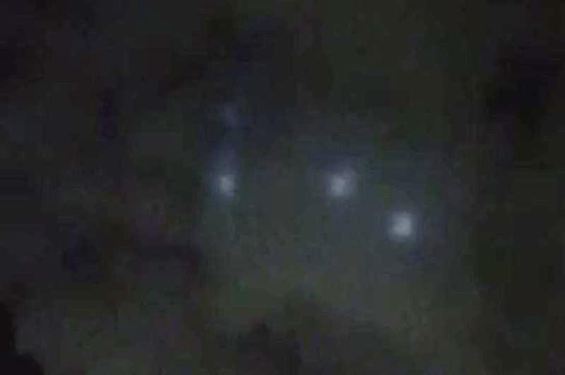 Fig. 4. Ufo di Bacoli. Altra immagine ancora.